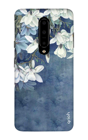 White Flower OnePlus 7 Pro Cases & Covers Online