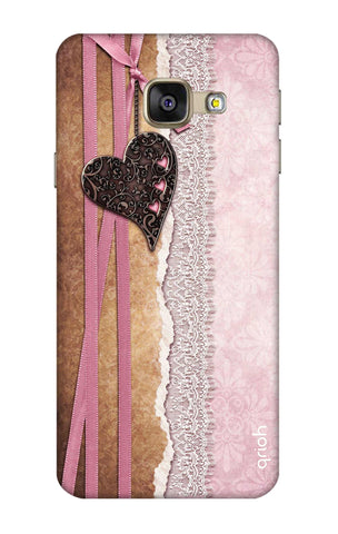 Heart in Pink Lace Samsung A5 2016 Cases & Covers Online