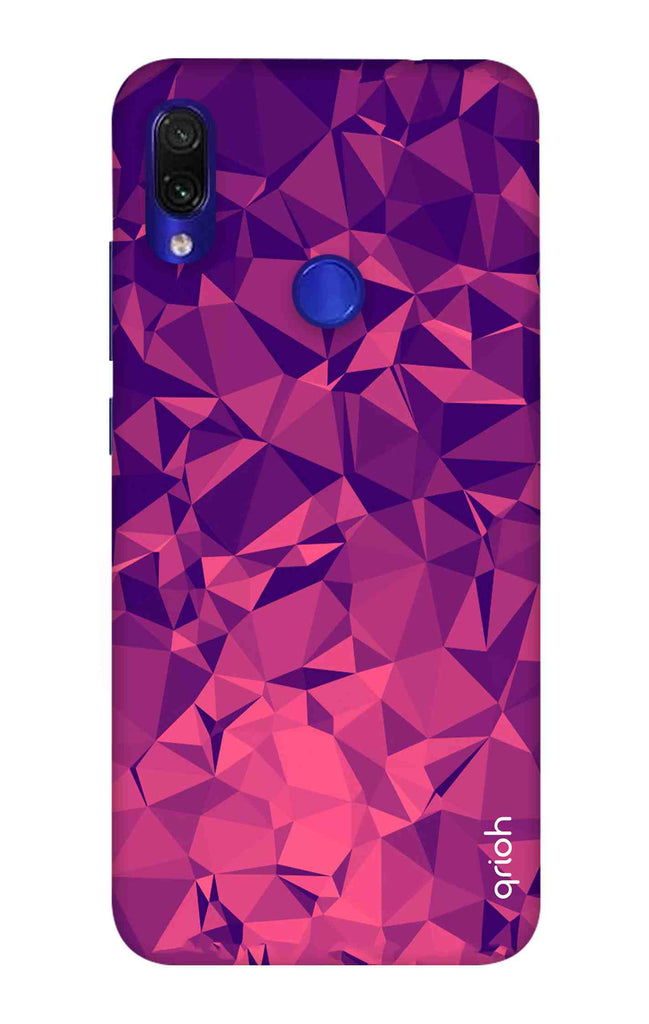 7c65ef77e8 Purple Diamond Xiaomi Redmi Note 7 Pro Back Cover - Flat 35% Off On Xiaomi  Redmi Note 7 Pro Covers – Qrioh.com