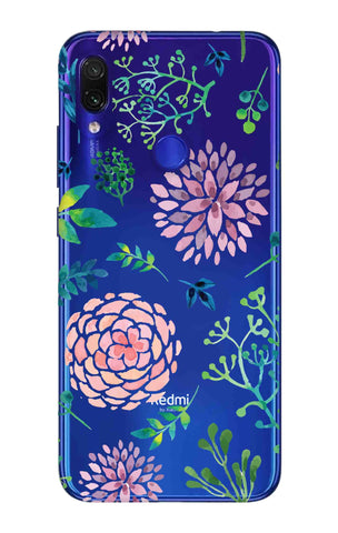 Lillies, Orchids And Leaves Xiaomi Redmi Note 7 Pro Cases & Covers Online