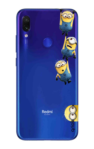 Falling Minions Xiaomi Redmi Note 7 Pro Cases & Covers Online