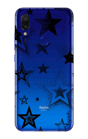 Black Stars Xiaomi Redmi 7 Cases & Covers Online