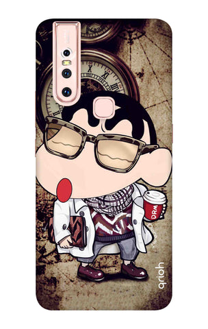 Nerdy Shinchan Vivo S1 Cases & Covers Online