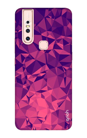 Purple Diamond Vivo S1 Cases & Covers Online