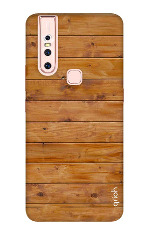 Natural Wood Vivo S1 Cases & Covers Online