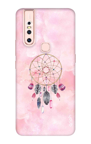 Pink Dreamcatcher Vivo S1 Cases & Covers Online