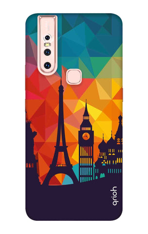 Wonders Of World Vivo S1 Cases & Covers Online