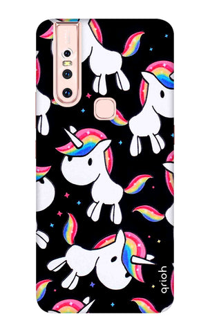 Colourful Unicorn Vivo S1 Cases & Covers Online