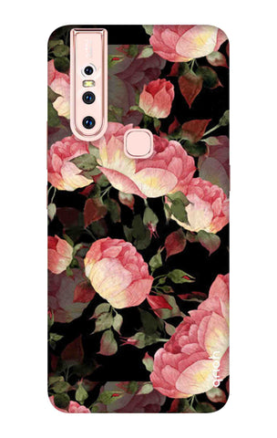 Watercolor Roses Vivo S1 Cases & Covers Online