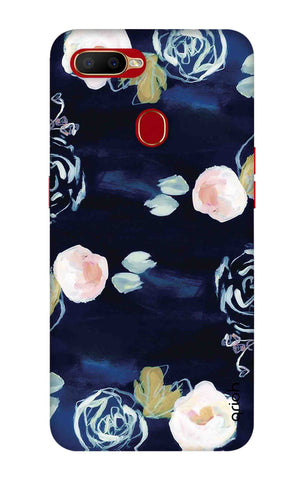 Floral Space Cadet Oppo A5s Cases & Covers Online