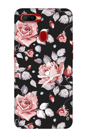 Shabby Chic Floral Oppo A5s Cases & Covers Online