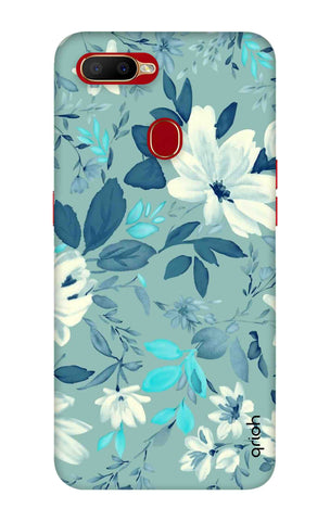 White Lillies Oppo A5s Cases & Covers Online