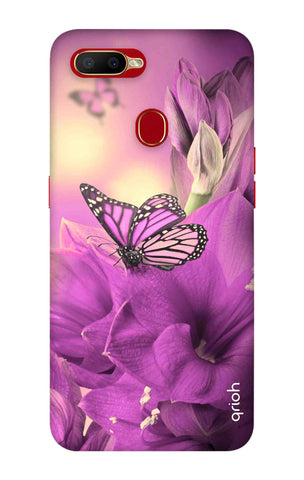 Purple Butterfly Oppo A5s Cases & Covers Online