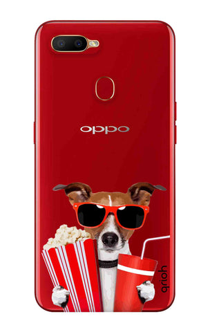 Dog Watching 3D Movie Oppo A5s Cases & Covers Online