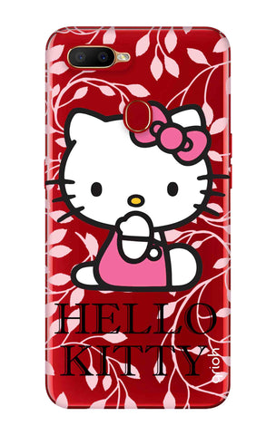 Hello Kitty Floral Oppo A5s Cases & Covers Online