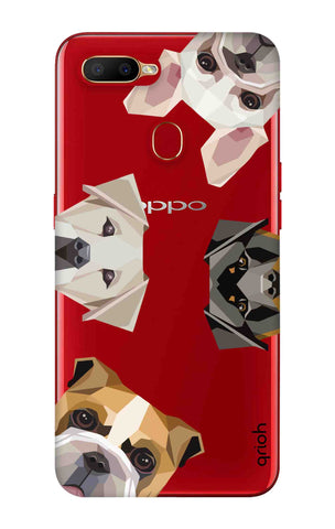 Geometric Dogs Oppo A5s Cases & Covers Online