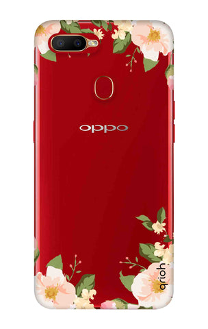 Flower In Corner Oppo A5s Cases & Covers Online