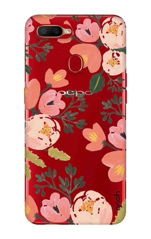 Painted Flora Oppo A5s Cases & Covers Online
