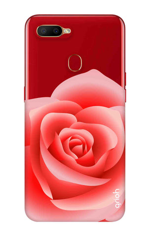 Peach Rose Oppo A5s Cases & Covers Online