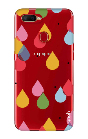Colourful Drops Oppo A5s Cases & Covers Online