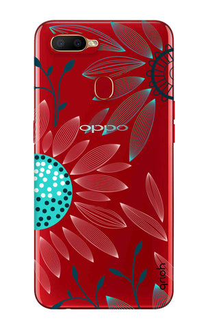 Pink And Blue Petals Oppo A5s Cases & Covers Online