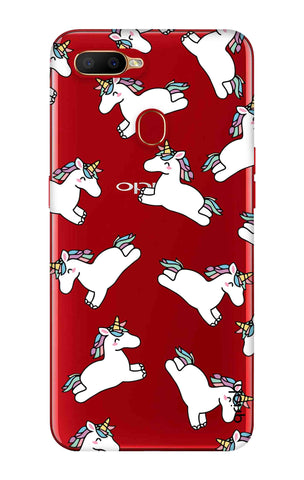 Jumping Unicorns Oppo A5s Cases & Covers Online