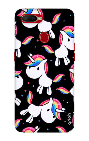 Colourful Unicorn Oppo A5s Cases & Covers Online