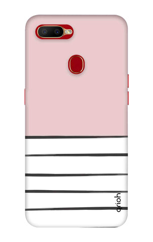 Horizontal Stripe Oppo A5s Cases & Covers Online
