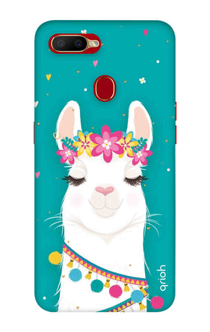 Cute Llama Oppo A5s Cases & Covers Online