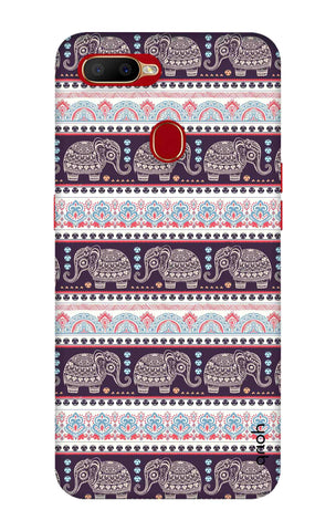 Elephant Pattern Oppo A5s Cases & Covers Online