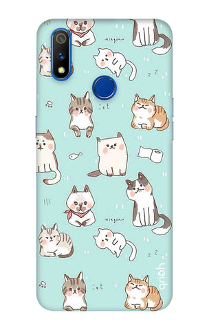 Cat Kingdom Realme 3 Pro Cases & Covers Online