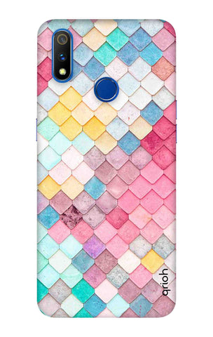 Colorful Pattern Realme 3 Pro Cases & Covers Online