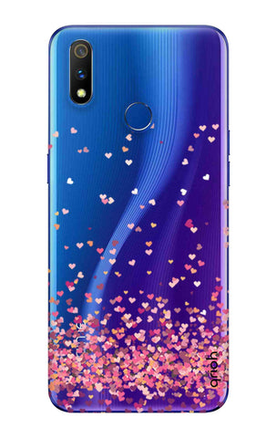 Cluster Of Hearts Realme 3 Pro Cases & Covers Online