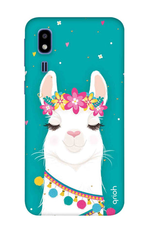 Cute Llama Samsung Galaxy A2 Core Cases & Covers Online