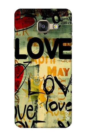 Love Text Samsung A7 2016 Cases & Covers Online