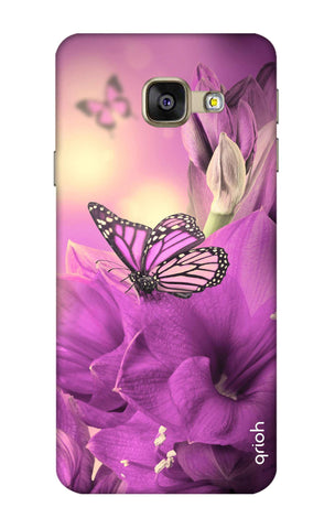 Purple Butterfly Samsung A7 2016 Cases & Covers Online