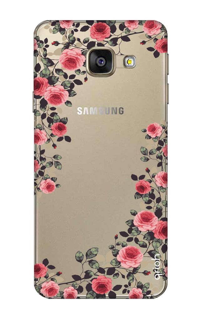 low priced 40320 a406a Floral French Case for Samsung A7 2016