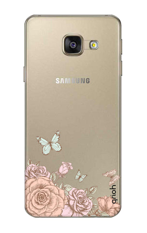 Flower And Butterfly Samsung A7 2016 Cases & Covers Online