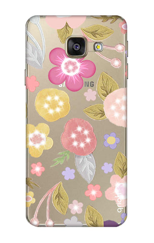 Multi Coloured Bling Floral Samsung A7 2016 Cases & Covers Online