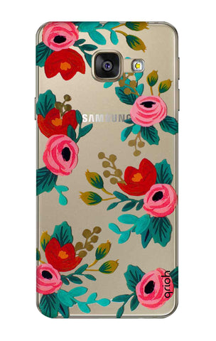 Red Floral Samsung A7 2016 Cases & Covers Online