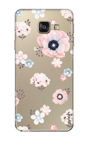 Beautiful White Floral Samsung A7 2016 Cases & Covers Online
