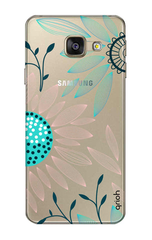 Pink And Blue Petals Samsung A7 2016 Cases & Covers Online
