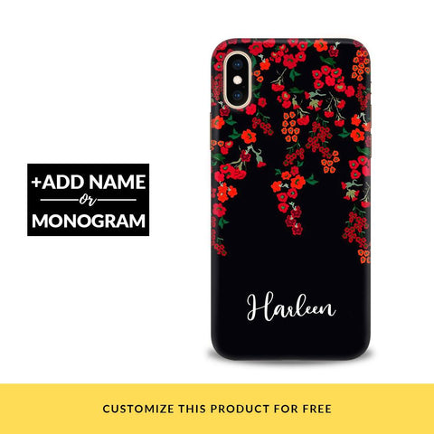 Floral Deco Customized Phone Cover