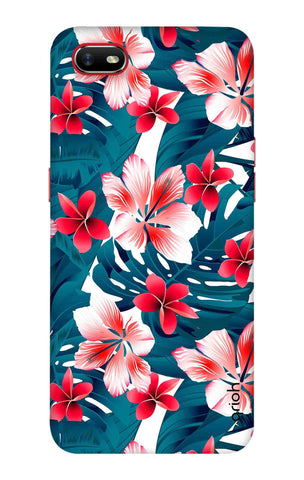 Floral Jungle Oppo A1k Cases & Covers Online