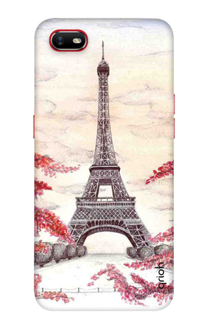 Eiffel Art Oppo A1k Cases & Covers Online