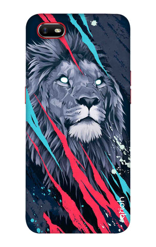 Beast Lion Oppo A1k Cases & Covers Online