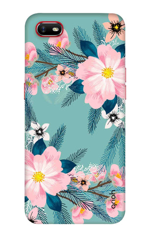Graceful Floral Case Oppo A1k Cases & Covers Online