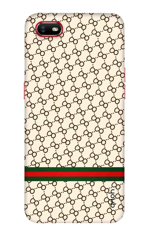 Luxurious Pattern Case Oppo A1k Cases & Covers Online