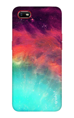 Colourful Aura Case Oppo A1k Cases & Covers Online