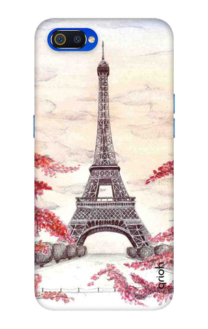 Eiffel Art Oppo Realme C2 Cases & Covers Online